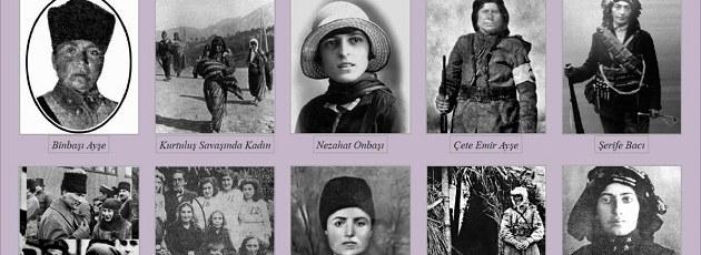 Kahraman Türk Kadınlarımızı Unutmayalım!